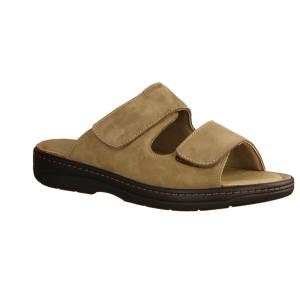 Slowlies 210 Sand (beige) - Pantolette