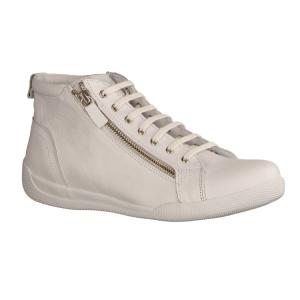 Ecco Cool 2.0 8425130100 White (weiß) - sportlicher Schnürschuh