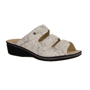 Birkenstock Arizona BS 1009127 Magic Snake White (weiß) - Pantolette mit loser Einlage