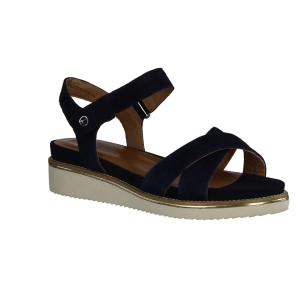 Gabor Comfort 22853-36 Blau Navy - elegante Sandale