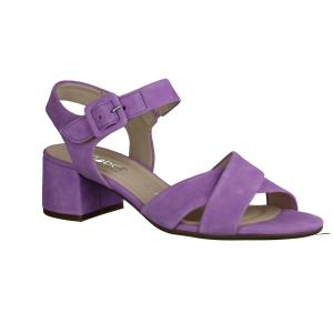 Gabor Comfort 22736-90 Silber,Metallic - elegante Sandale