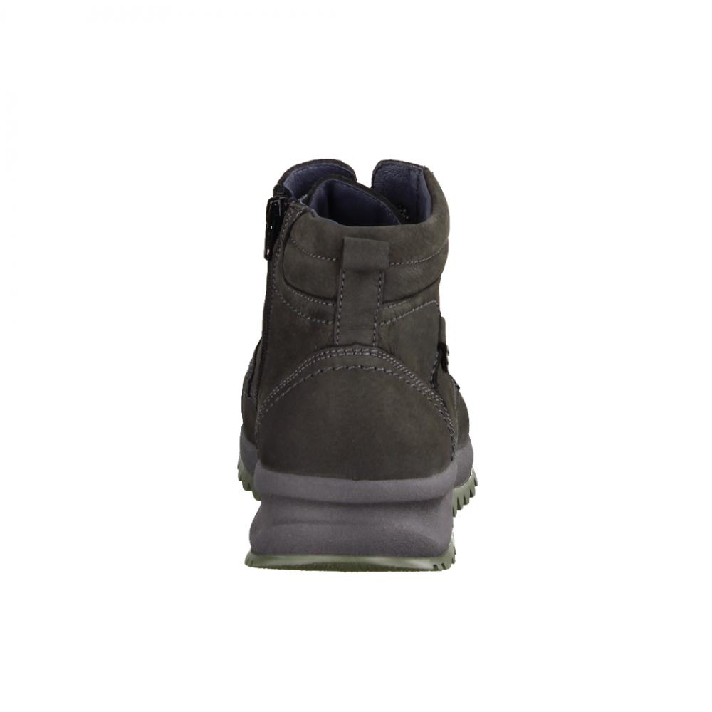 Rieker 39223 47 Grau Kombi gefütterter Stiefel   Schuhshop
