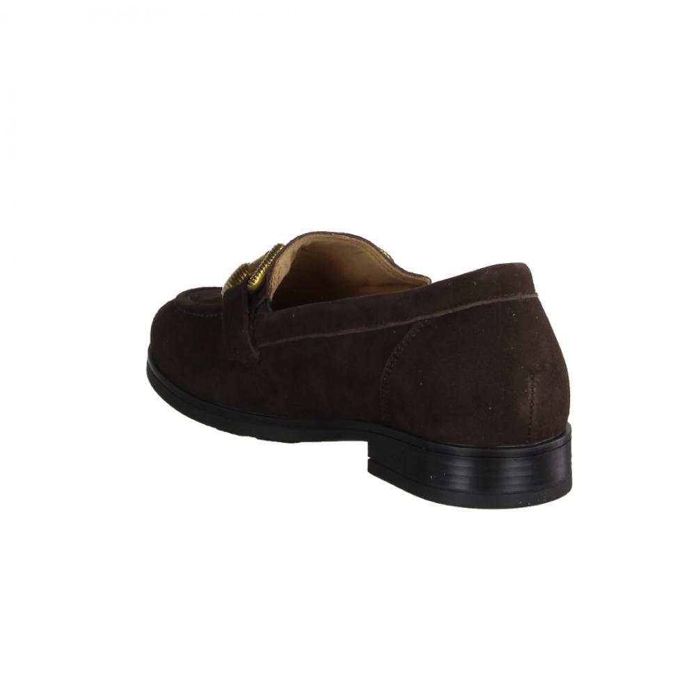 premium selection ed877 2e2ac Paul Green 2493-006 Foulard Nougat Foulard/Nougat (braun) - Slipper