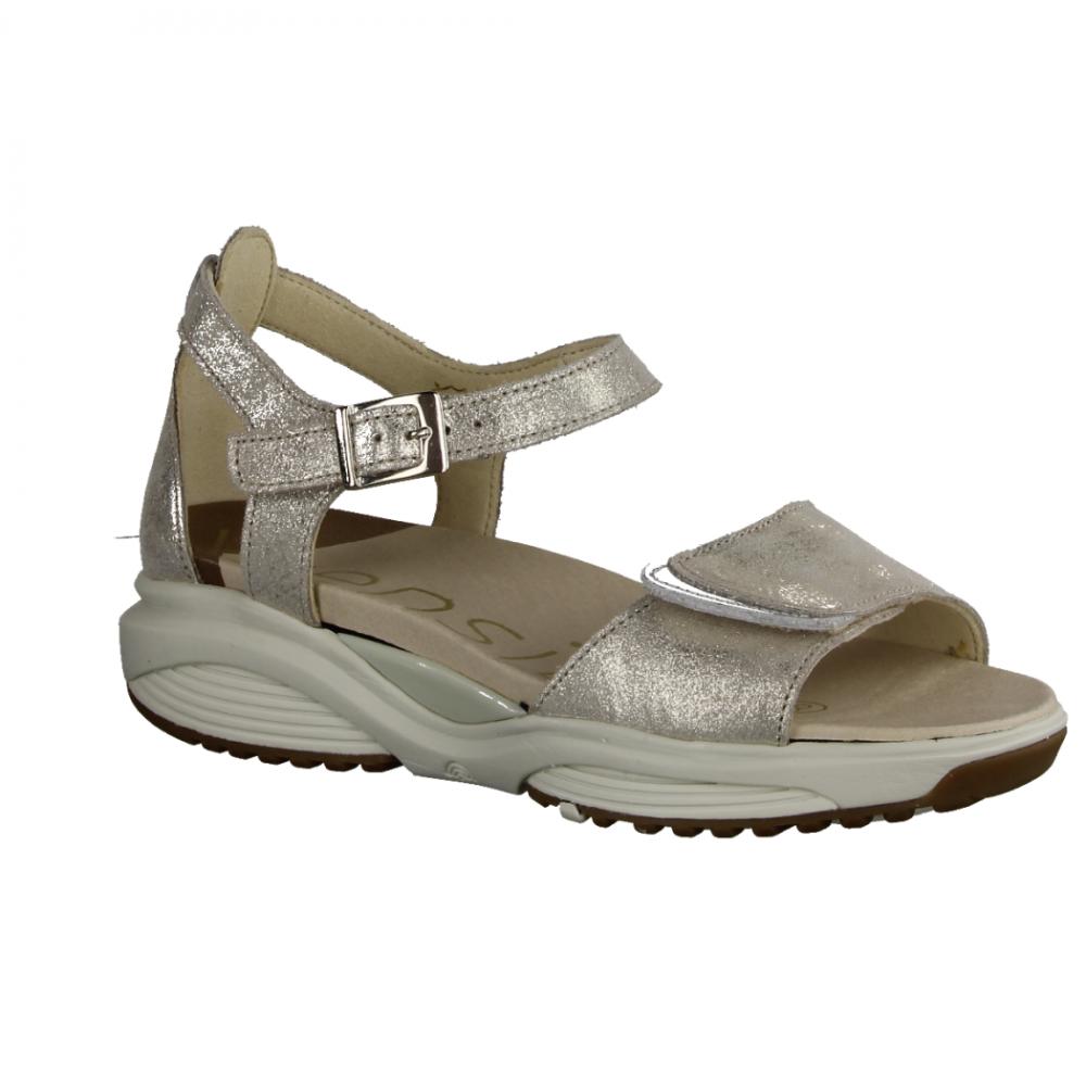 rieker sandalen creme