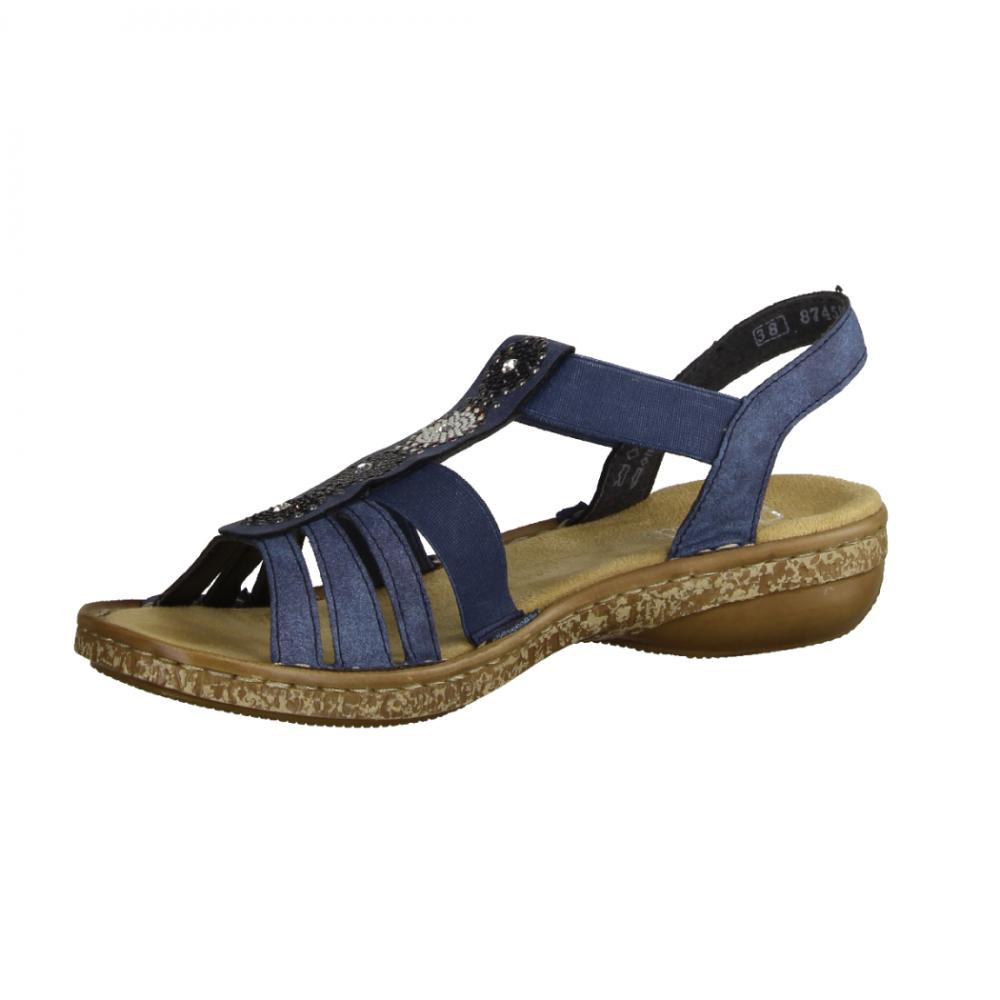 Skechers On The Go 15315 NVW Navy,Blau sportliche Sandale