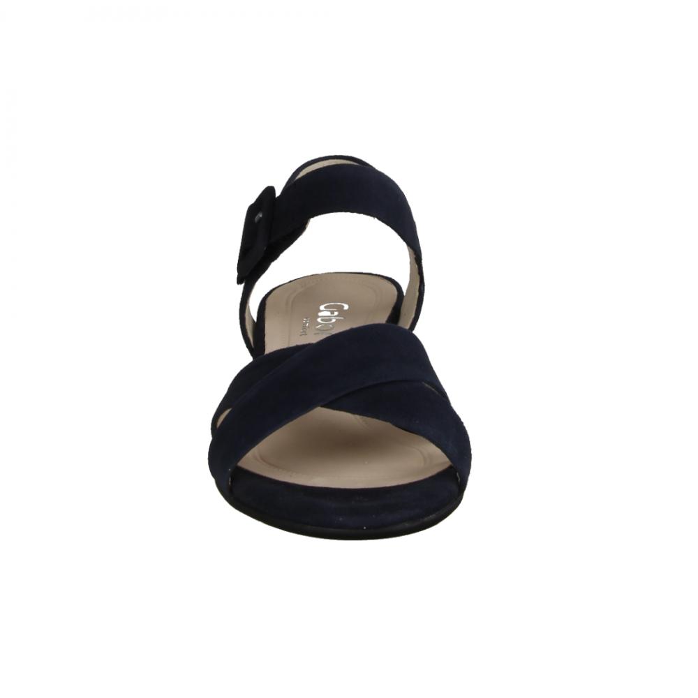 Gabor Comfort 22736 46 Pazifik,Blau elegante Sandale