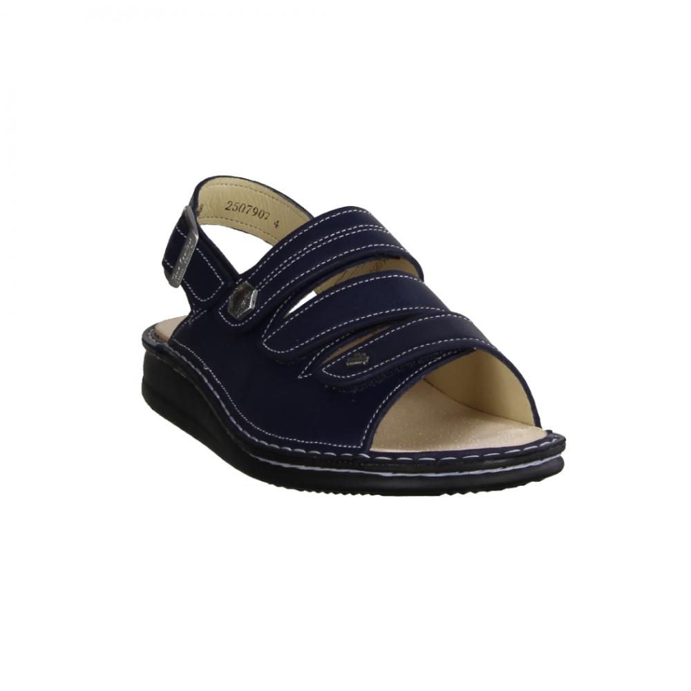Finn Comfort Costa (blau) Sandale mit loser Einlage