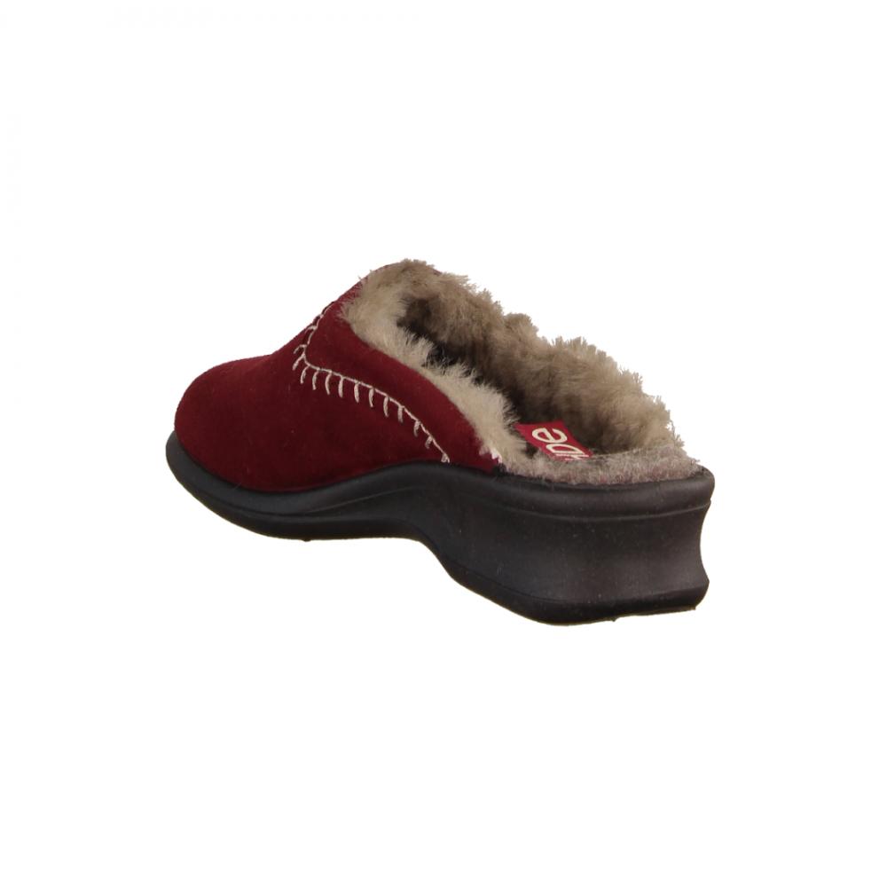 Birkenstock Kaprun Rivet 1012426 Doubleface Orange (rot) offener Hausschuh