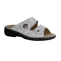 Finn Comfort Sansibar,Sand Sand (beige) - Pantolette mit loser Einlage