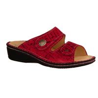 Finn Comfort Panay-Soft Red (rot) - Pantolette mit loser Einlage