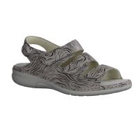 Finn Comfort Buka Street (grau) - Sandale mit loser Einlage