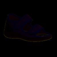 Liromed 810 Taubenblau (grau) - geschlossener Hausschuh