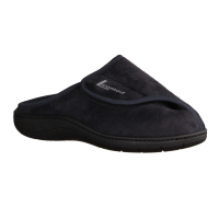 Liromed 800 Taubenblau (grau) - offener Hausschuh